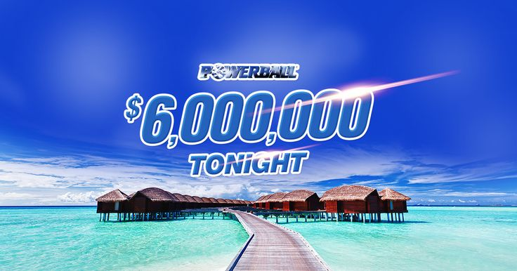 $6,000,000 could take you a long way from home! Take the first step on your journey by grabbing your Powerball ticket online now.