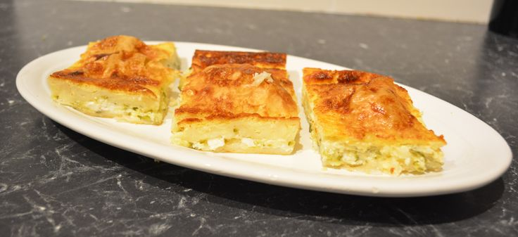Cheese and Zucchini Pita. Find the recipe at http://www.whatscookingella.com/blog/cheese-and-zucchini-pita