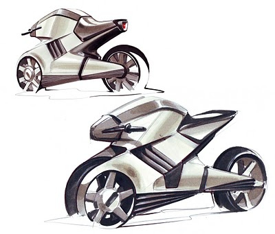 221 Best Images About Motorcycle Sketches On Pinterest