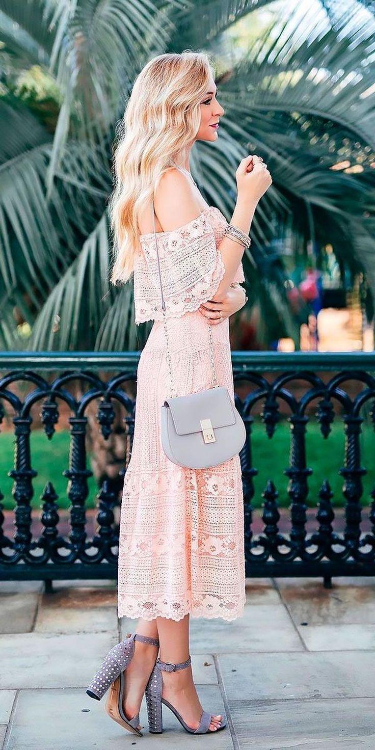 Beautiful Spring Wedding Guest Dress Ideas 14, #Beautiful #Dress