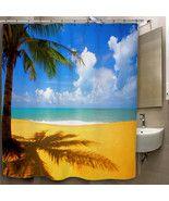 Beach Bright Sky Custom Print On Polyester Show... - $35.00 - $41.00