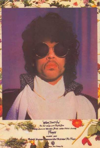 Prince When Doves Cry Poster 24x36 – BananaRoad