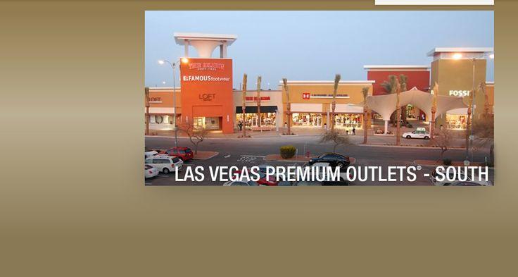 Las Vegas Premium Outlets - South. Factory Outlets for Calvin Klein, Coach, DKNY, Ralph Lauren, True Religion