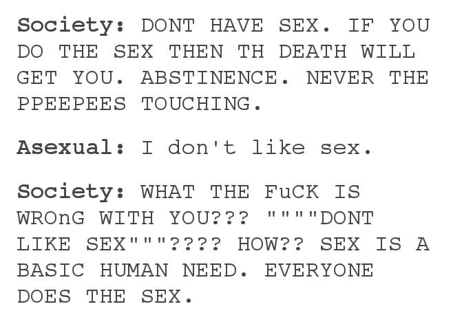 Asexual dating advice