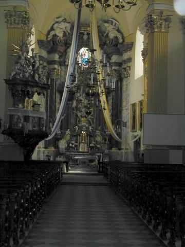 St. Lawrence Church Glucholazy Poland