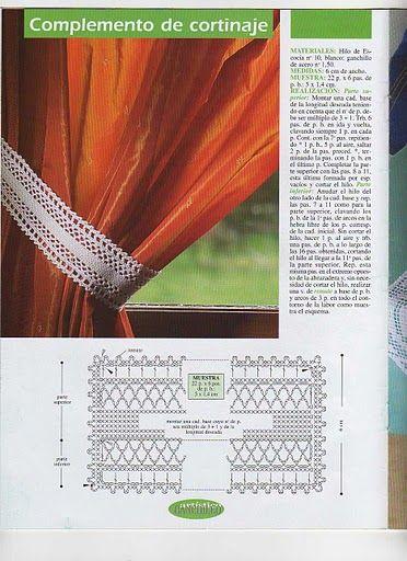 Ideas para el hogar: Sujetadores de cortinas con patrones