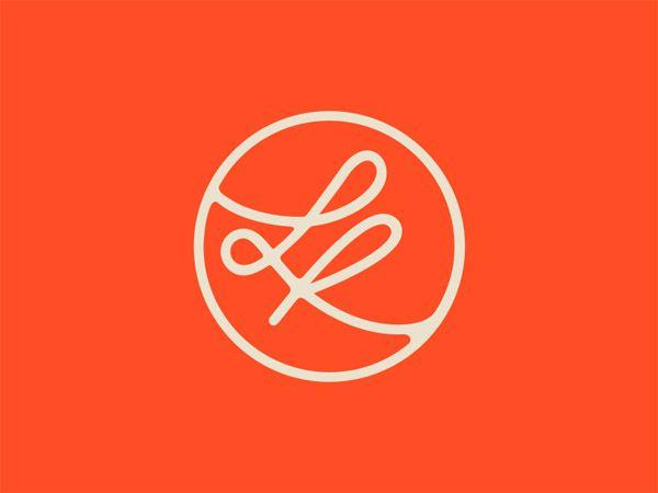 Elegant Monograms Lo Logo Brand Identity Inspiration