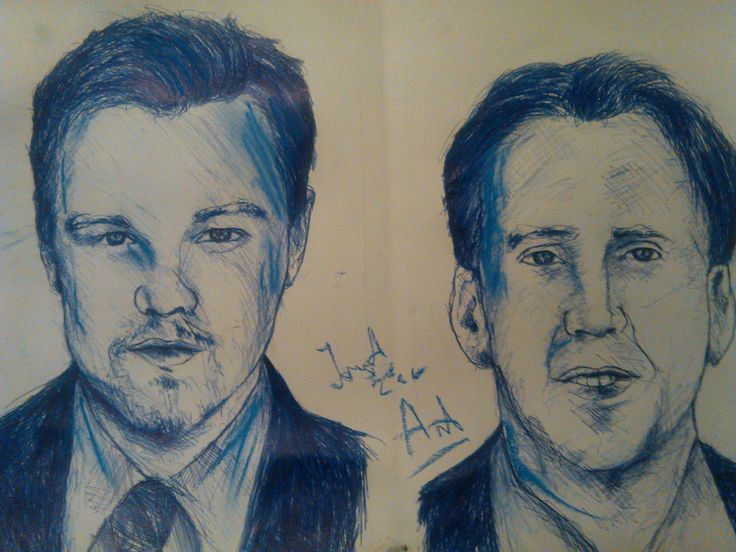 TWO HANDED Drawing - Shawshank Redemption - ambidextrous / ambidextru Le...