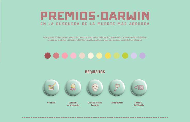 Infografía: Premios Darwin 1