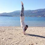 Crystal May is a Calgary, Alberta based yoga teacher.