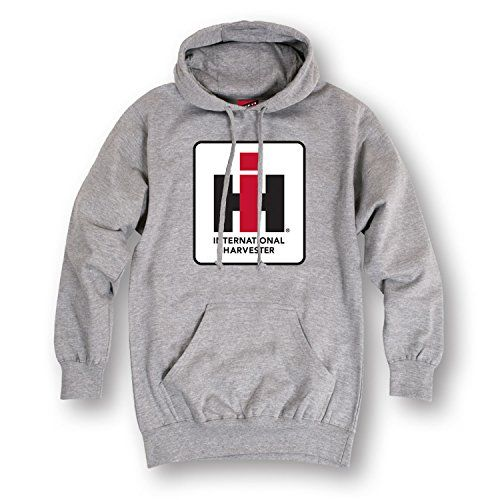 International Harvester Logo Case IH Farming Agriculture Tractor Mens Hoodie
