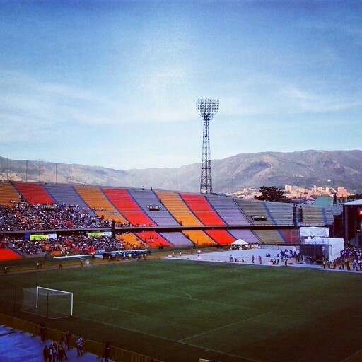 Estadio Atanasio Girardot. Medellin
