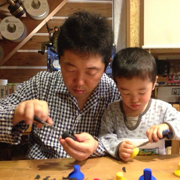 #3D Printing & DIY with my son
