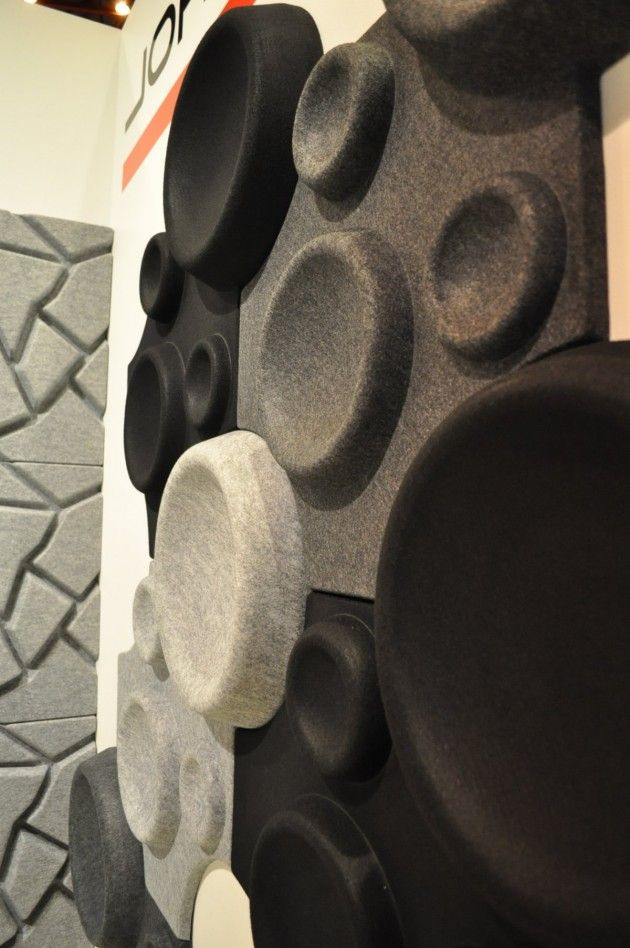 Sound Absorbent Panels by Johanson Design at 100% Design » CONTEMPORIST