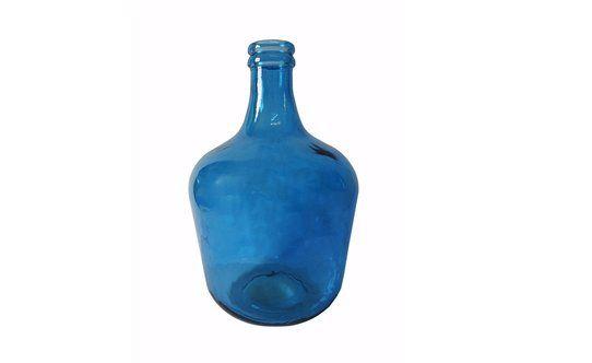 Vaso Bottiglia Ibiza Blu H42cm – Conforama