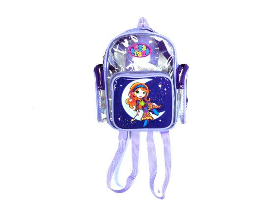 Lisa Frank Clear PVC Mini Backpack