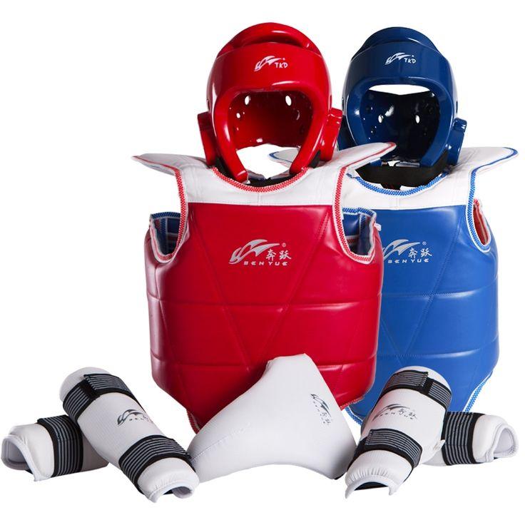 (78.29$)  Buy here  - taekwondo equipment set wesing Sports WTF Taekwondo Sparring Gear Protector Guard Set