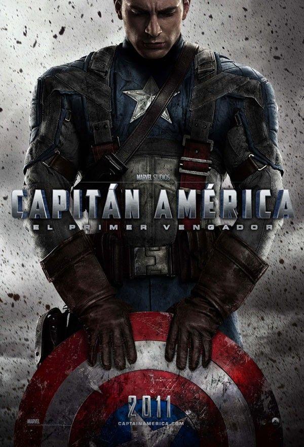 Capitan America El Primer Vengador 2011 Pelicula Capitan America Capitan America Primer Vengador Capitan America