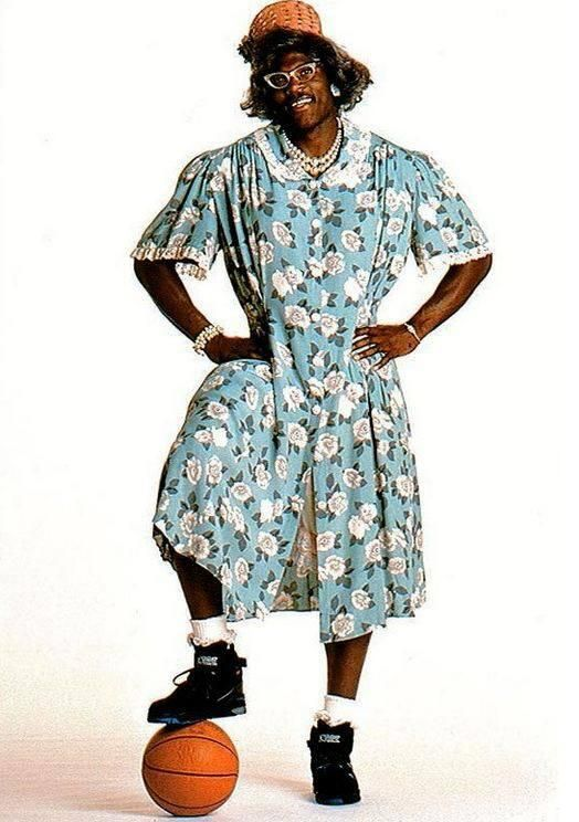 Larry Johnson- as Grandma