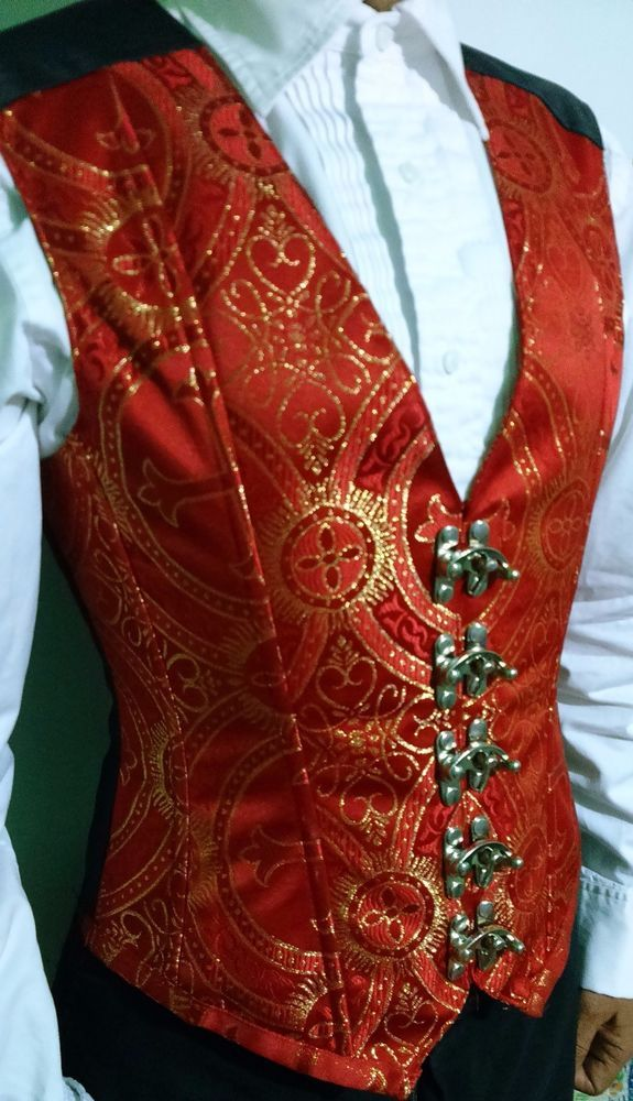 Victorian Mens Corset, high end Waistcoat male Corset liturgic fabric in Clothing, Shoes & Accessories, Costumes, Reenactment, Theater, Reenactment & Theater | eBay!