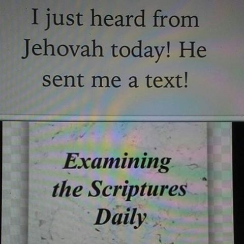 Read the Daily Text together and discuss.Why not look for an appropriate photo or comment to add below it?
