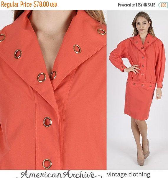 Vestido de venta 80s 80s tachonado de vestido por americanarchive