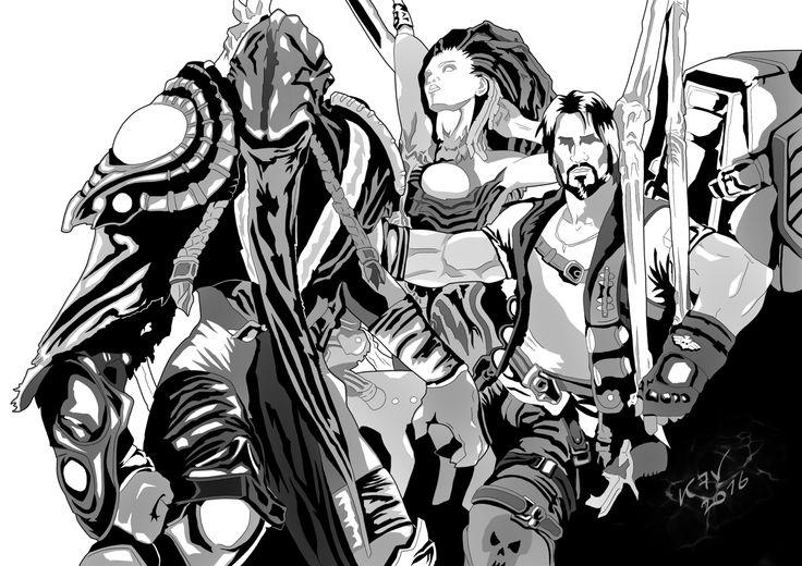Starcraft... Zeratul- Queen of Blades - Jim Raynor