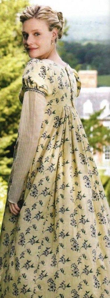 Romola Garai, Emma Woodhouse - Emma directed by Jim O'Hanlon (TV Mini-Series, 2009) #janeausten Series Costume Design by Rosalind Ebbutt