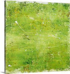 Green home wall art décor is enchanting, beautiful and  unique.  It does not matter if you like  jade, emerald, lime, forest, hunter or pale green, green wall art is truly  captivating and stunningly beautiful.   Furthermore you will love the wide variety available from green canvas  art, green abstract art and green wall clocks.      Erin Ashley Premium Thick-Wrap Canvas Wall Art Print entitled Green Mile