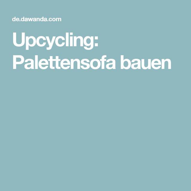 Upcycling: Palettensofa bauen
