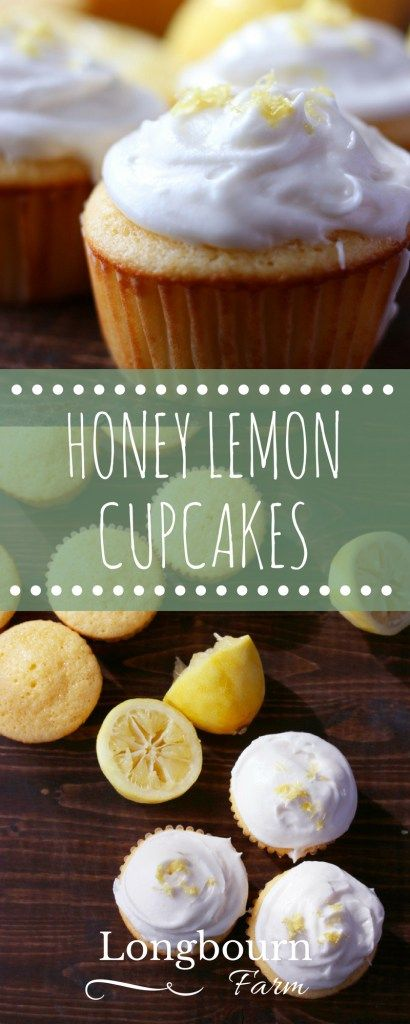 Simple recipe for moist & flavorful honey lemon cupcakes plus three amazing baking tips to make sure your baked goods don't turn out dry or tough!