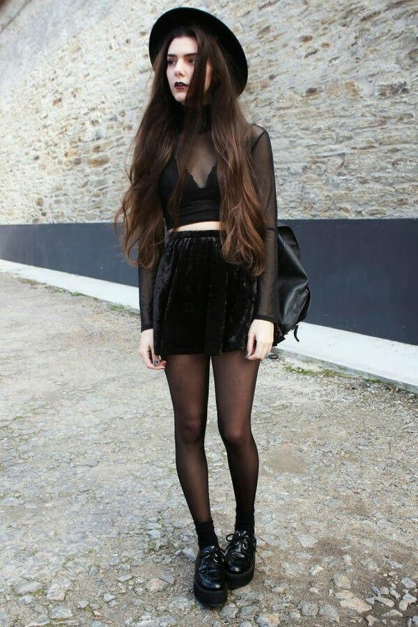 31e145db958a How to Dress Punk  25 Cute Punk Rock Outfit Ideas