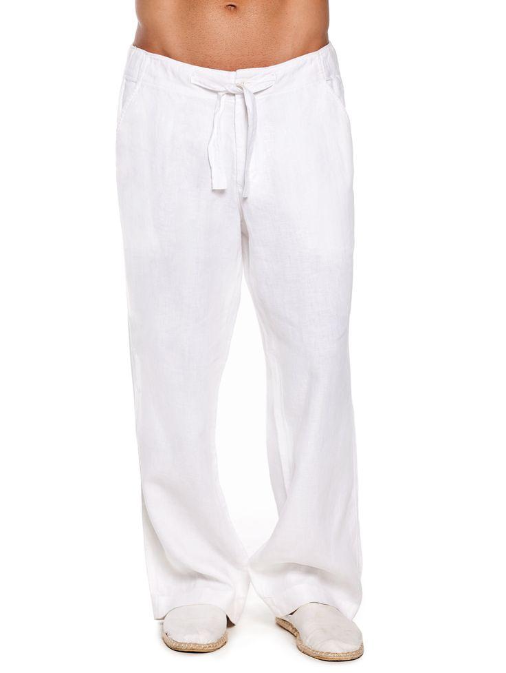 Best 25  White linen pants mens ideas on Pinterest
