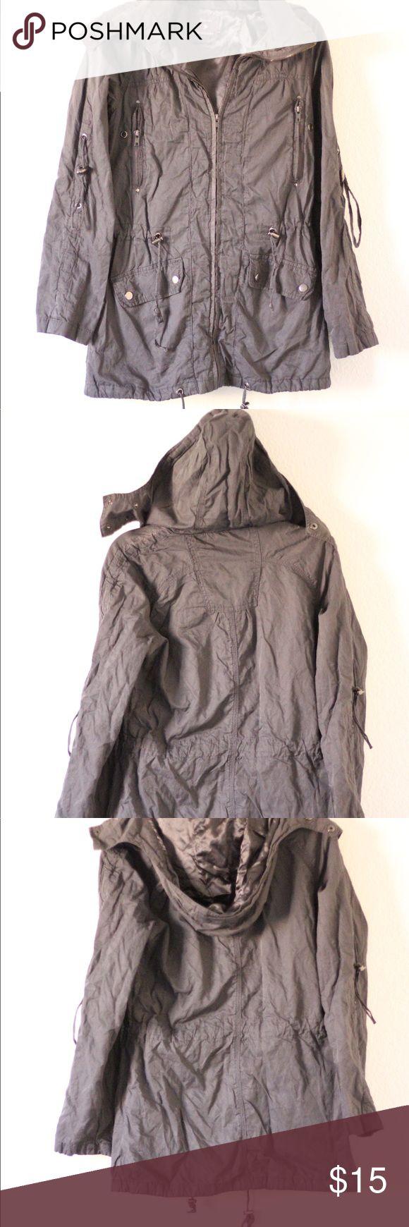 Gray women's Utility Jacket Gray women's Utility Jacket from Forever 21 Forever 21 Jackets & Coats Utility Jackets