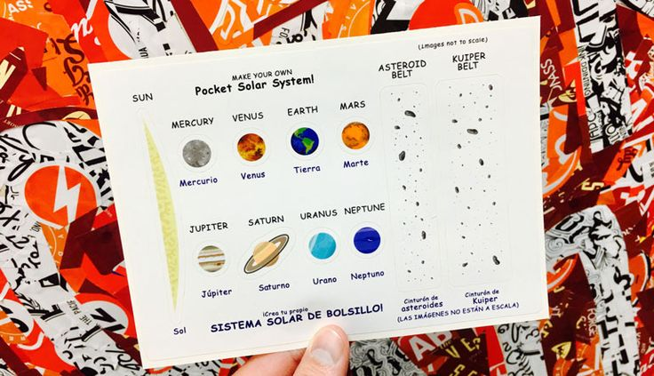 The solar eclipse has passed but there is a whole solar system to learn more about custom stickerssolar