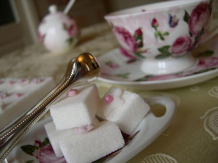 Zollette di zucchero decorate 'Smart sugar cubes'