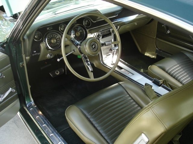 1968 mustang fastback interior - Google Search