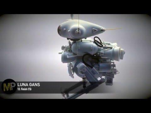 Building the Ma.k LUNA GANS part 13 [Finish Mockup] - YouTube