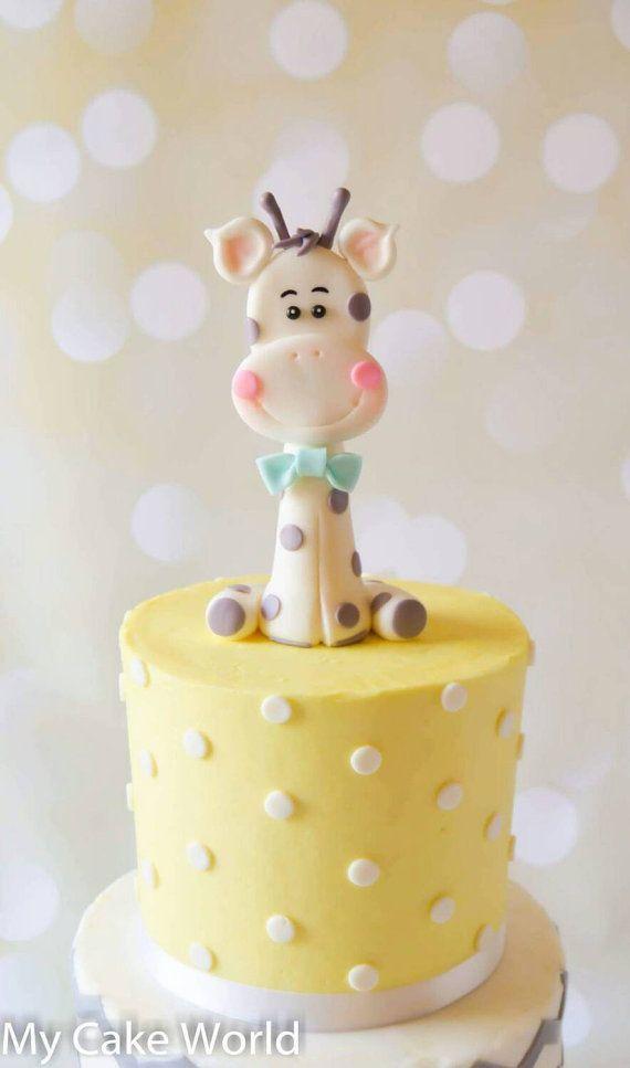 Cake Topper Ideas For Baby Shower : Best 25+ Giraffe cakes ideas on Pinterest