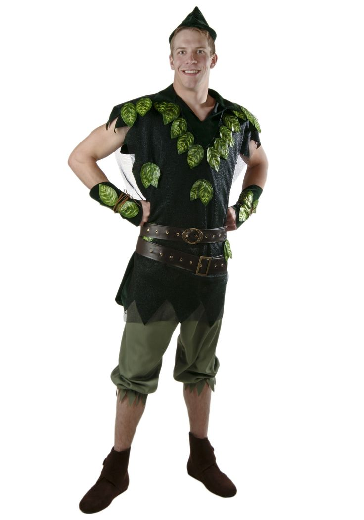 adult deluxe peter pan costume - Amazon Halloween Costumes Men