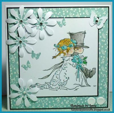 Ruby-Dooby-Doo Crafts (blog) Wedding Card