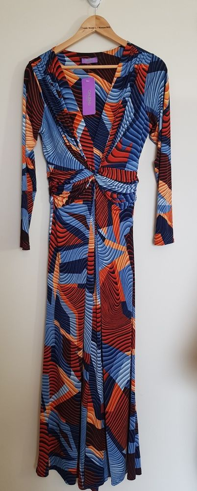 Onjenu London Leia Wide Leg Jumpsuit, Size 14, Multi Coloured, BNWT #Onjenu #Jumpsuit