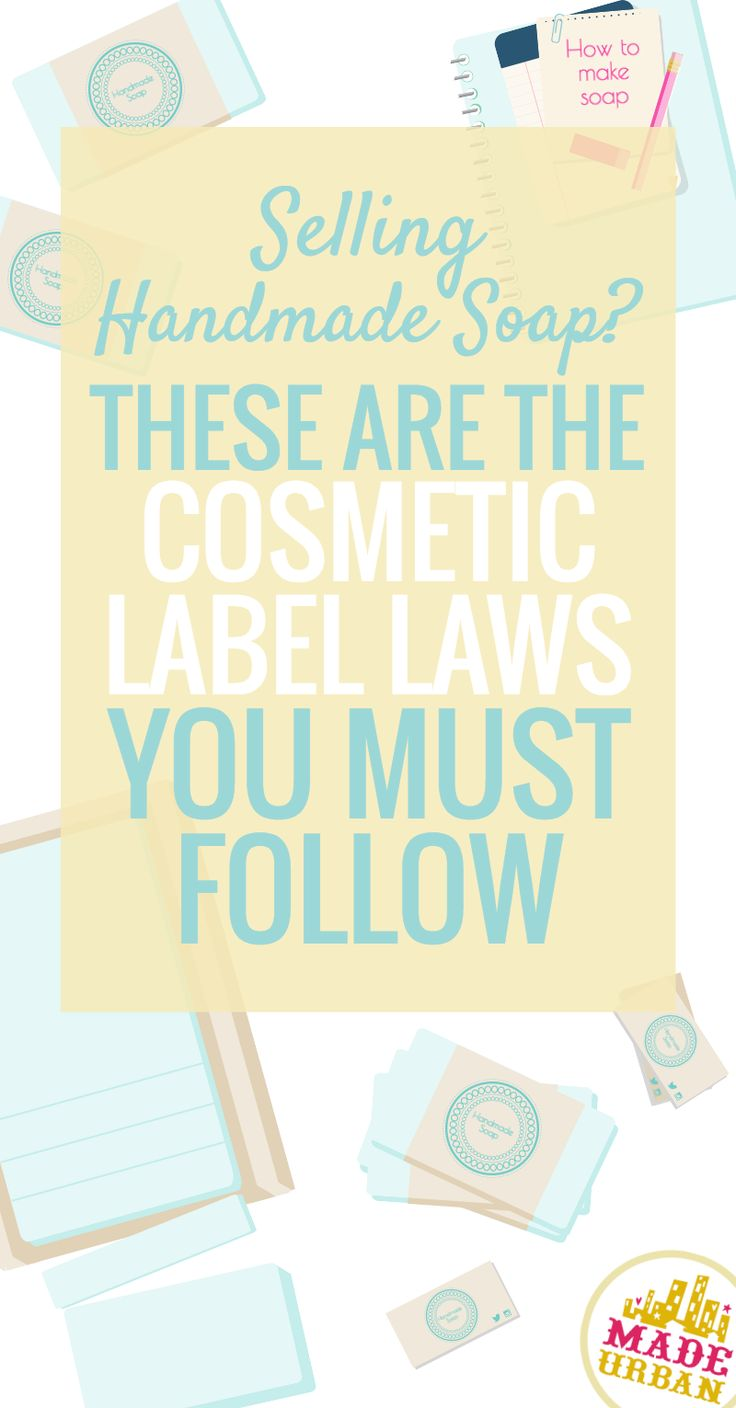 When it comes to your handmade goods, if you're selling personal care products, you must follow labeling requirements…..which are extensive. It can seem overwhelming at first so we thought this guide would be helpful to those getting started. And...