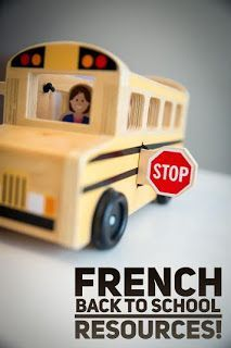 French back to school activities! Lots of different activities to help your students get back into the groove of speaking French and being back in the classroom!