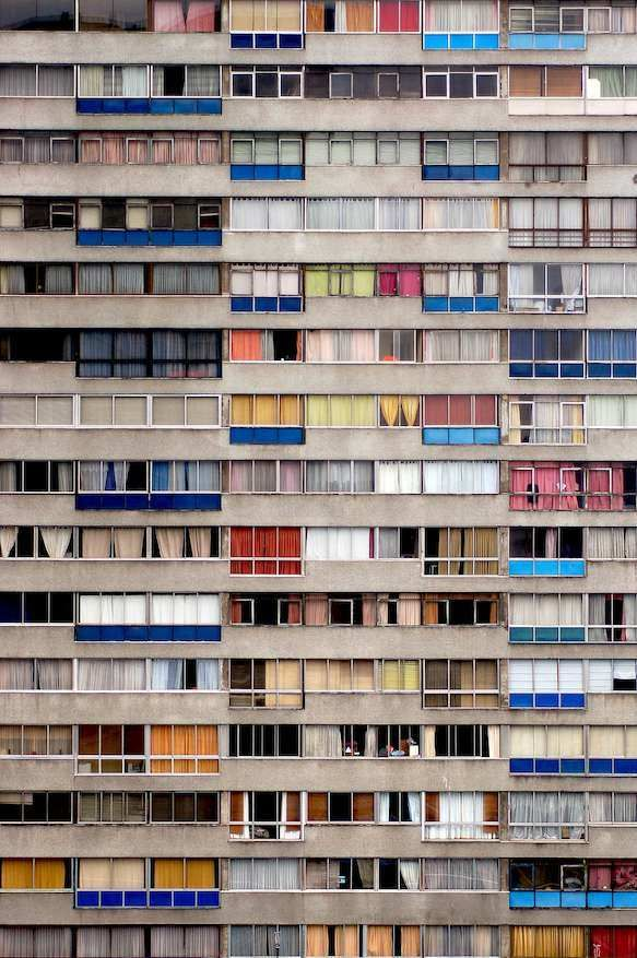 Santiago, Chile: Color/Architecture/pattern