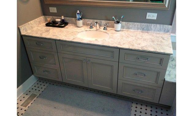 How To Refinish Bathroom Vanity Hering