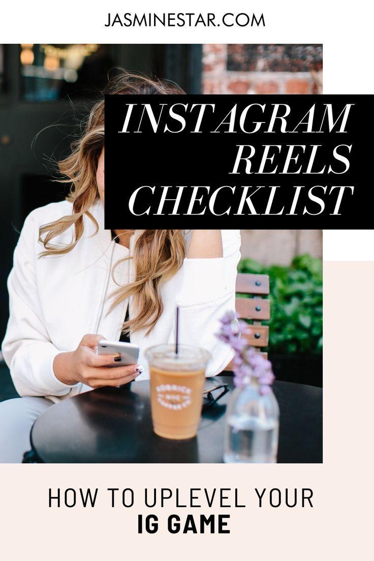 Your Instagram Reels Checklist Instagram Marketing Instagram Marketing Tips Instagram Business