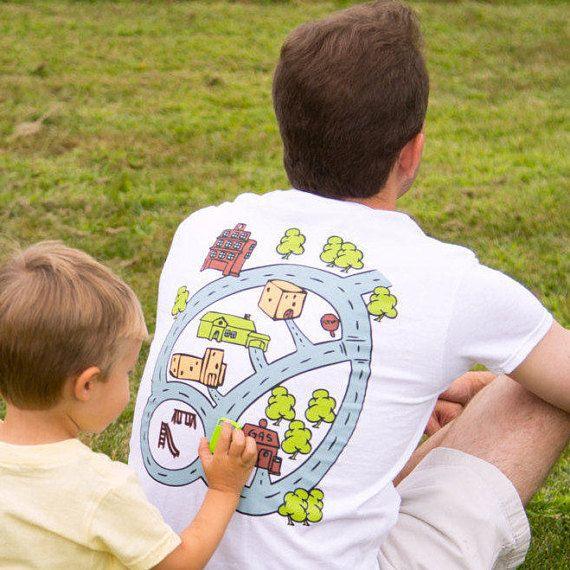 f1cd6bc26 3XL Car Play Mat Shirt For Dad From Kids Road #clothing #men #tshirt  @EtsyMktgTool #3xlxxxl #carplaymat #playmat #playmatshirt #roadmap