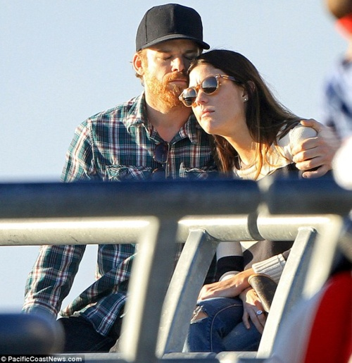 did michael hall and jennifer carpenter meet on dexter