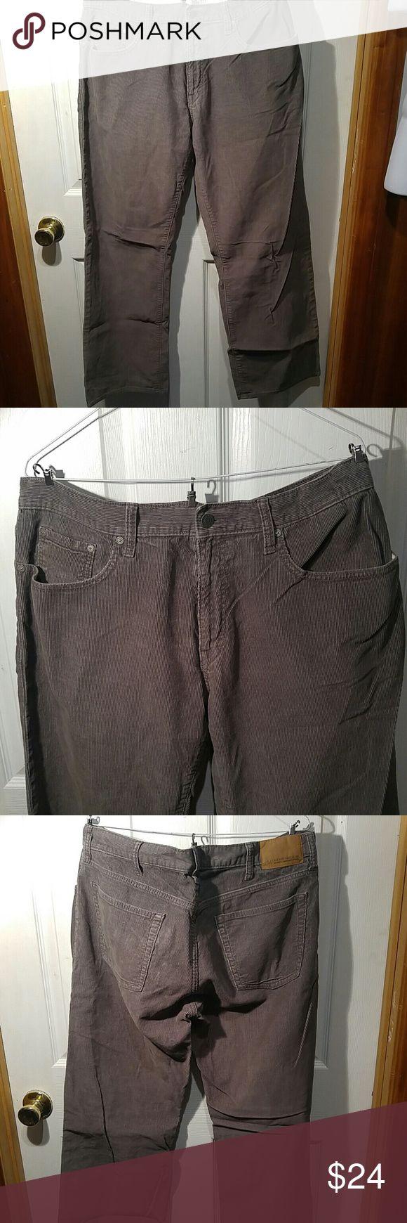 Mens cord pants Loose 36x32 Old Navy Pants Corduroy